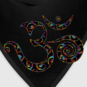 Om, Colors, Buddhism, Sound of Universe, T-Shirts - Bandana