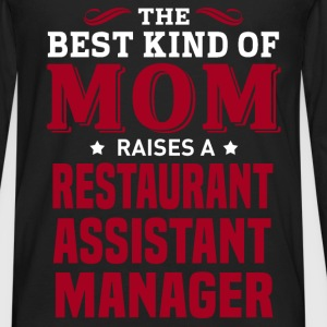 Restaurant Assistant Manager MOM - Men's Premium Long Sleeve T-Shirt