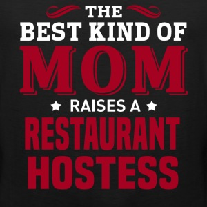 Restaurant Hostess MOM - Men's Premium Tank