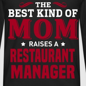 Restaurant Manager MOM - Men's Premium Long Sleeve T-Shirt