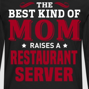 Restaurant Server MOM - Men's Premium Long Sleeve T-Shirt
