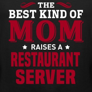 Restaurant Server MOM - Men's Premium Tank