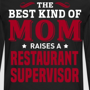 Restaurant Supervisor MOM - Men's Premium Long Sleeve T-Shirt