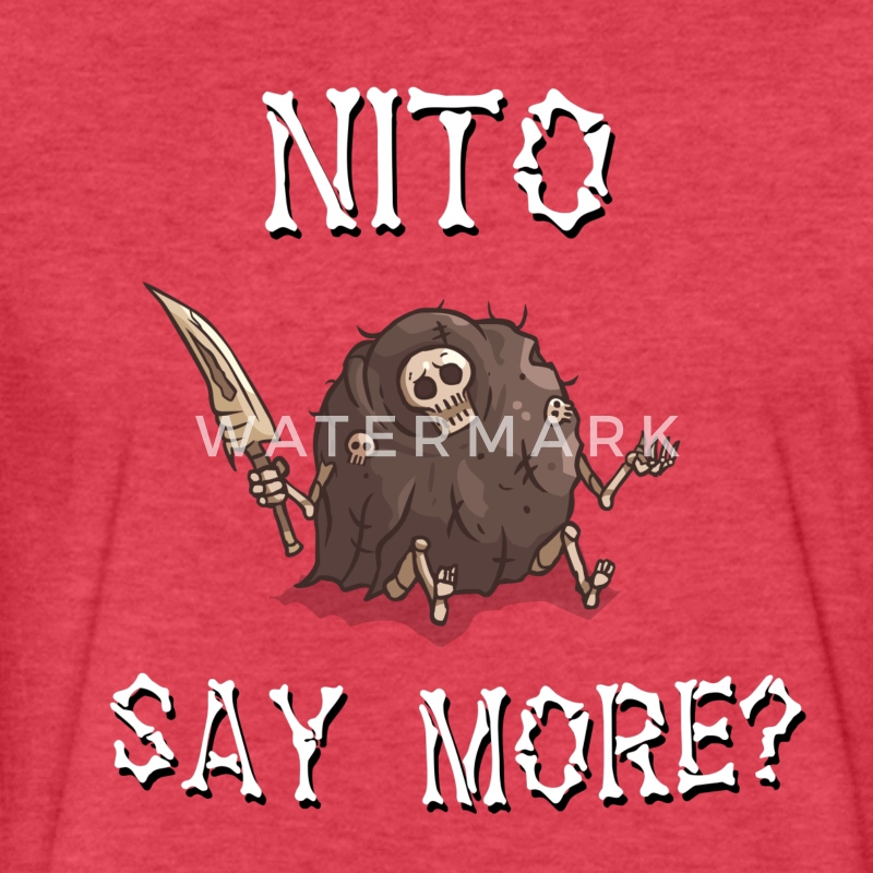 NITO T-Shirts - Fitted Cotton/Poly T-Shirt by Next Level