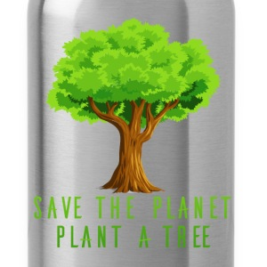 Planet - Save the planet, plant a tree - Water Bottle
