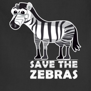 Zebras - Save the zebras - Adjustable Apron