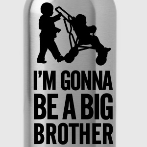 I'm gonna be a big brother baby car Baby & Toddler Shirts - Water Bottle