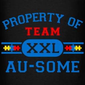 Property of Team Au-Some Bags & backpacks - Men's T-Shirt