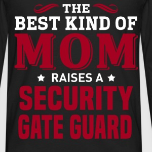 Security Gate Guard MOM - Men's Premium Long Sleeve T-Shirt