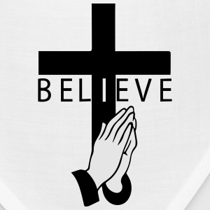 I believe in cross and pray T-Shirts - Bandana