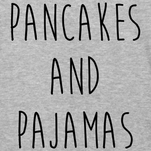 Pancakes And Pajamas Funny Quote Hoodies - Baseball T-Shirt