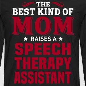 Speech Therapy Assistant MOM - Men's Premium Long Sleeve T-Shirt