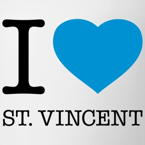 I LOVE ST: VINCENT - Coffee/Tea Mug