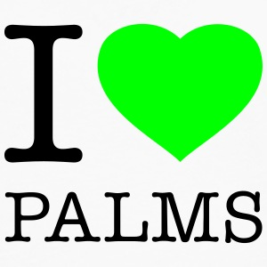 I LOVE PALMS - Men's Premium Long Sleeve T-Shirt