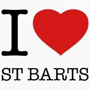 I LOVE ST BARTS - Men's Premium Long Sleeve T-Shirt