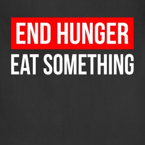 END HUNGER EAT SOMETHING Hoodies - Adjustable Apron