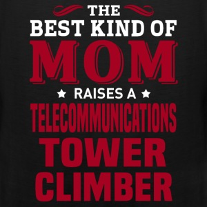 Telecommunications Tower Climber MOM - Men's Premium Tank