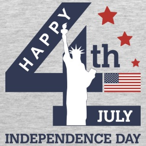 4th of July - Happy Independence Day T-Shirts - Men's Premium Tank