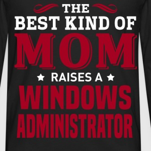 Windows Administrator MOM - Men's Premium Long Sleeve T-Shirt