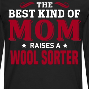 Wool Sorter MOM - Men's Premium Long Sleeve T-Shirt