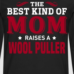 Wool Puller MOM - Men's Premium Long Sleeve T-Shirt