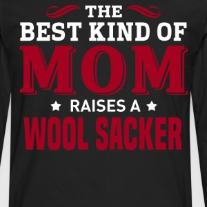 Wool Sacker MOM - Men's Premium Long Sleeve T-Shirt