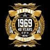 June 1969 48 Years Of Being Awesome T-Shirts - Men's Premium T-Shirt