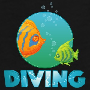diving_fishes_holidays02 Mugs & Drinkware - Men's Premium T-Shirt