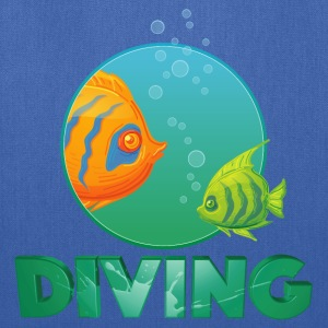 diving_fishes_holidays03 T-Shirts - Tote Bag