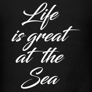 GREAT AT THE SEA Tanks - Men's T-Shirt