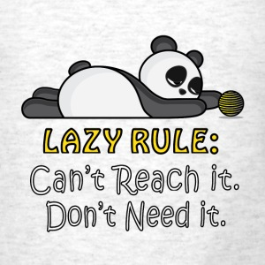 Lazy Panda Tanks - Men's T-Shirt