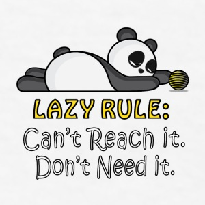 Lazy Panda Phone & Tablet Cases - Men's T-Shirt