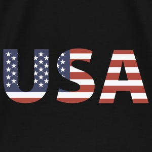 USA - Stars & Stripes Hoodies - Men's Premium T-Shirt