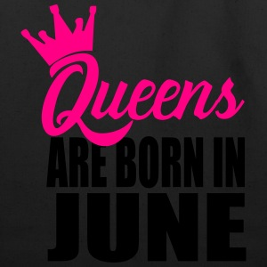 queens are born in june T-Shirts - Eco-Friendly Cotton Tote
