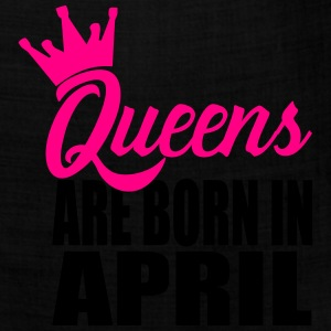 queens are born in april T-Shirts - Bandana