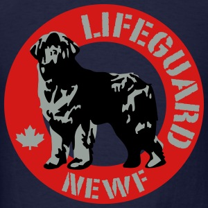 newfoundland__lifeguard__black__3c Hoodies - Men's T-Shirt