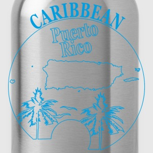 PUERTO RICO CARIBBEAN 3 - Water Bottle