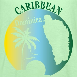 DOMINICA CARIBBEAN 2 - Women's Flowy Tank Top by Bella