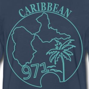 GUADELOUPE CARIBBEAN 3 - Men's Premium Long Sleeve T-Shirt