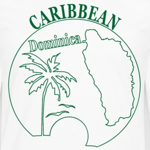 DOMINICA CARIBBEAN - Men's Premium Long Sleeve T-Shirt