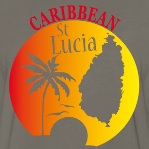 St LUCIA Caribbean 2 - Men's Premium Long Sleeve T-Shirt