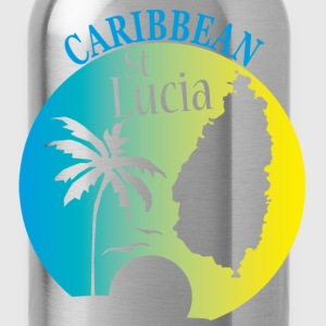 Ste LUCIA Caribbean - Water Bottle