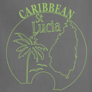 St LUCIA Caribbean - Adjustable Apron