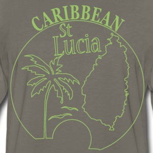 St LUCIA Caribbean - Men's Premium Long Sleeve T-Shirt