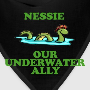 Nessie Our Underwater Ally T-Shirts - Bandana