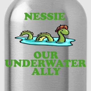 Nessie Our Underwater Ally T-Shirts - Water Bottle