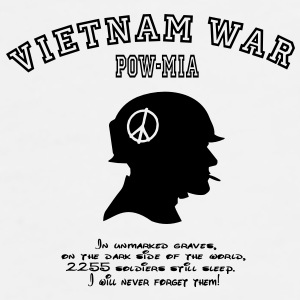 Vietnam War POW-MIA: I will never forget! Gift - Men's Premium T-Shirt