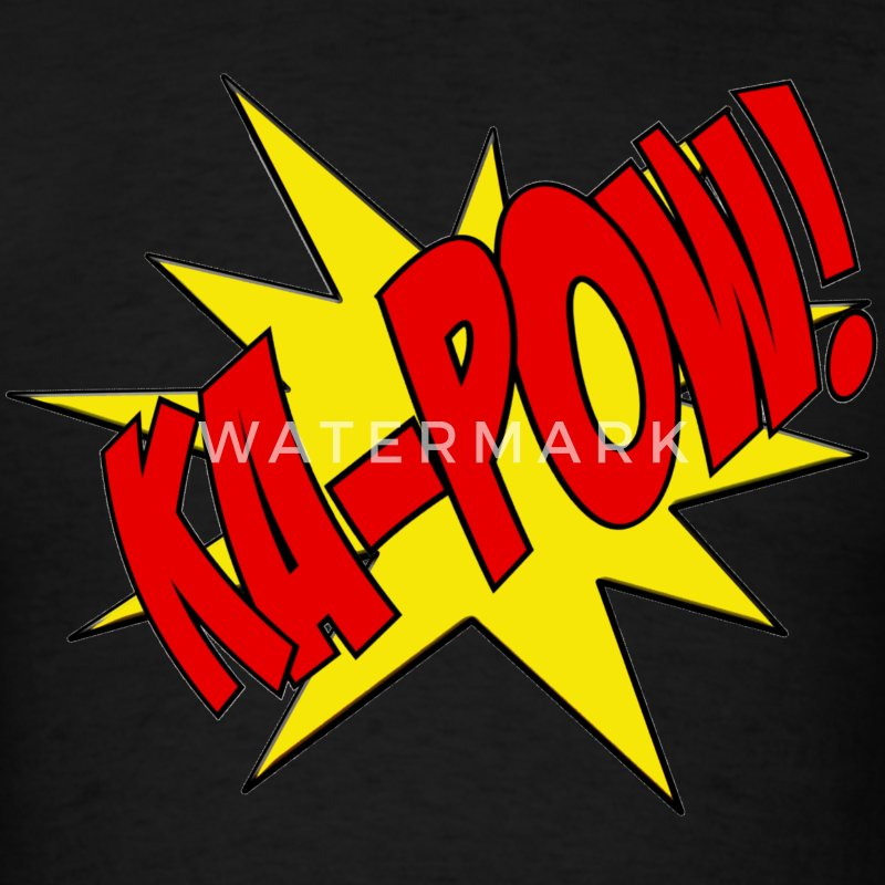 Ka-Pow - Men's T-Shirt