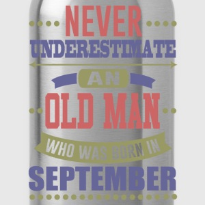 SEPTEBEMBER MAN 121.png T-Shirts - Water Bottle