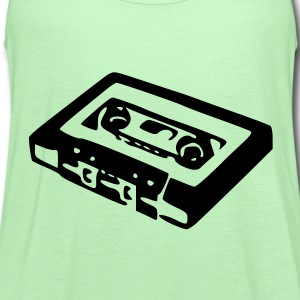 Old School Tape - Women's Flowy Tank Top by Bella